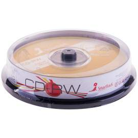 Диск CD-RW 700Mb Smart Track 4-12x Cake Box (10шт),ST000198